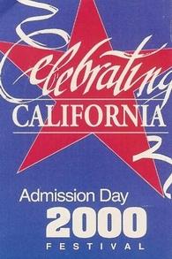 Admission Day 2000 Logo