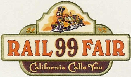 RailFair99 logo ©1999 California State Railroad Museum