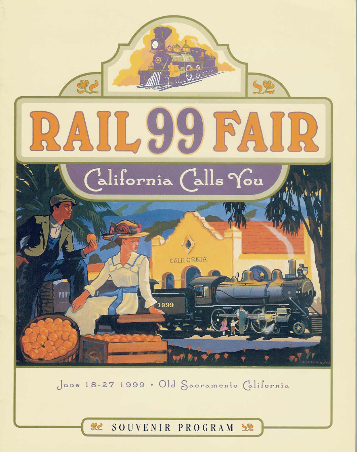 RailFair99 ©1999 California State Railroad Museum & David Ziemienski